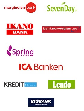 Bra banker för lån